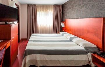 Einzelzimmer mit Doppelbett Hotel Nuevo Torreluz